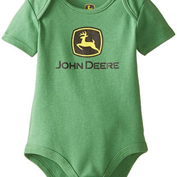 John Deere Baby Trademark Body Shirt, Green, 3-6 Months