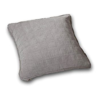 "DaDa Bedding Set of Two Corduroy Sherpa Backside Soft Grey Throw Pillow Covers, 18"",  2-PCS (JHW858)"