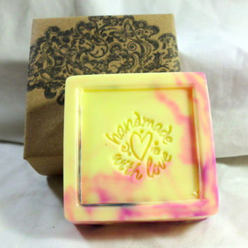 Bogeyman, Handmade Avocado Cucumber Soap, 4 ounces