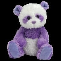 TY Beanie Baby - DANCY the Purple Panda Bear (Internet Exclusive)