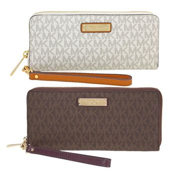One-nice™ Michael Kors Jet Set Continental Wristlet - Choose color