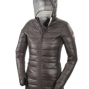 Canada goose women Winter fashion to keep warm hooded down jacket
