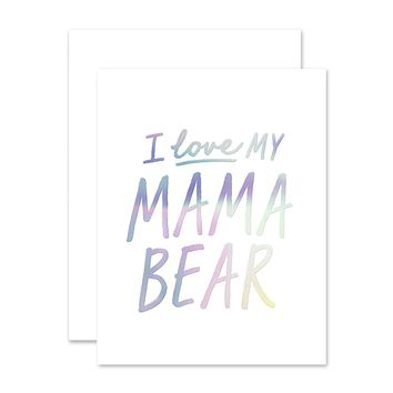 THE SOCIAL TYPE MAMA BEAR LOVE CARD