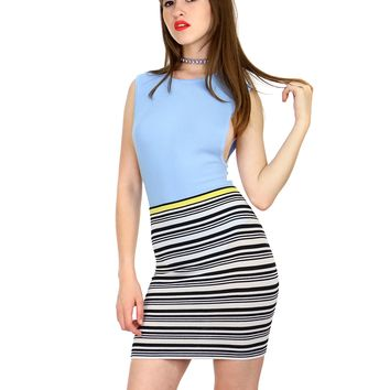 STRIPE VIBES SKIRT