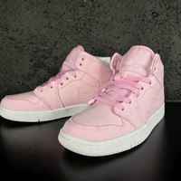 Air Jordan 1 Retro AJ1 30th GG Pink White Women Sneaker
