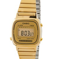 la670wga9 - LA670WGA-9 Casio Gold Ladies Digital Watch