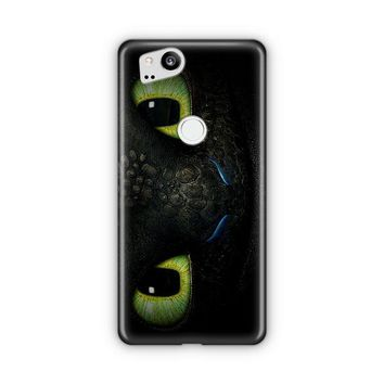 Toothless How To Train Your Dragon Face Google Pixel 3 XL Case | Casefantasy