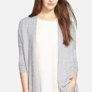 Women's Eileen Fisher Fine Gauge Cashmere Cardigan,