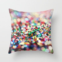 Celebrate Throw Pillow by Beth - Paper Angels Photography | Society6