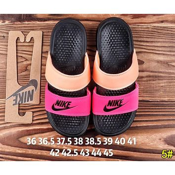 Nike Summer Hot Sale Woman Men Leisure Multicolor Sandals Slipper Shoes 5#