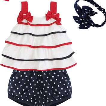 Baby girl Cotton summer wear set