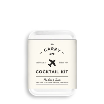 CARRY ON COCKTAIL / gin and tonic