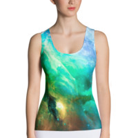 Ocean In the Orion Nebula || Sublimation Cut & Sew Tank Top