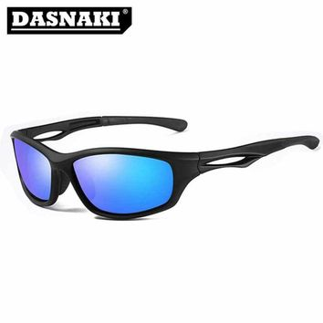 DASNAKI 100% Polarized fishing glasses out sport sunglasses men Glasses UV400 Polarization for fishing