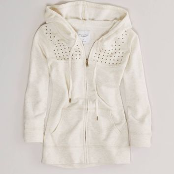 AE Studded Hoodie | American Eagle Outfitters