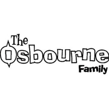 The Osbourne Family Peel & Rub Sticker