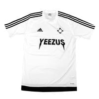 Adidas x Yeezus Soccer Jerseys in White