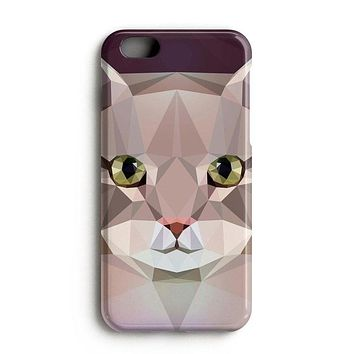 Geometric Cat iPhone X Case Samsung Galaxy Note 8 Case iPhone 8 Plus Case S8 iPhone 8 Case Birthday Gift Idea iPhone Case iPhone 7 Plus Case
