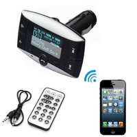 New Car Kit FM Audio Transmitter Bluetooth Modulator MP3 Player USB Charger SD Slot AP [7860026887]