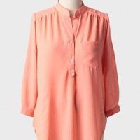 bay breeze curvy plus blouse at ShopRuche.com