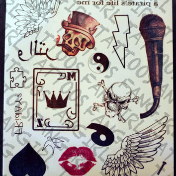 Zayn Malik Inspired Temporary Tattoos