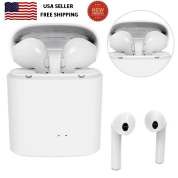 For Apple iPhone X 7 8 Wireless Bluetooth Earphone Earbud Headset Headphone S8