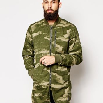 G Star Jacket Burmans Light Weight Parka Wave Camo