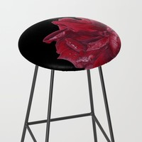 Roses are Red Bar Stool by drawingsbylam