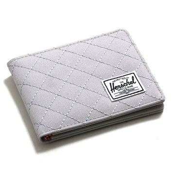 Roy Wallet Lunar Rock Quilted