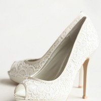 parisian summer lace heels at ShopRuche.com