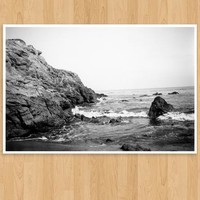 Oversized Leo Carillo Cove Polaroid Photo Print