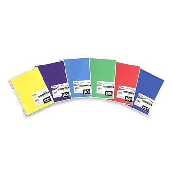 1 Subject Spiral College Rule Notebook - 100 Sheets Case Pack 9