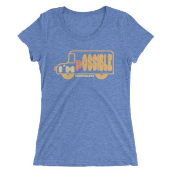 The I'm Possible! Bus - Ladies' Tee