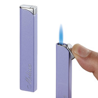 Visol Nidia Purple Traditional Flame Cigarette Lighter For Women