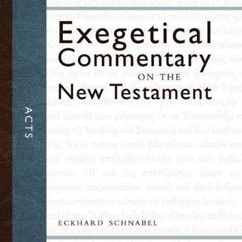 Acts Zondervan Exegetical Commentary on the New Testament