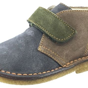 Naturino Boy's and Girl's Chukka Desert Boot, Grey/Beige/Green