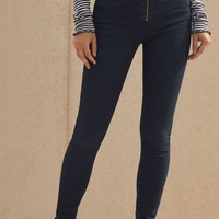 PacSun Vixen Blue Super High Rise Jeggings at PacSun.com - medium indigo | PacSun