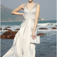 Seascapes Casual Wedding Gown