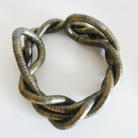 Brass Snake Necklace