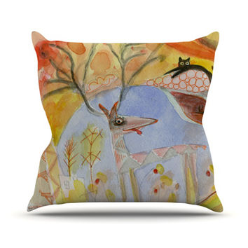 "Marianna Tankelevich ""Promise of Magic"" Throw Pillow"