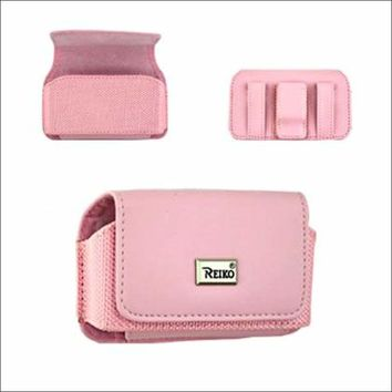 HORIZONTAL POUCH HP69 SIDEKICK3 PINK 5.1X2.5X0.8 INCHES: Case Of 120