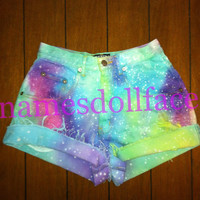 2 Discounted Random Galaxy Shorts