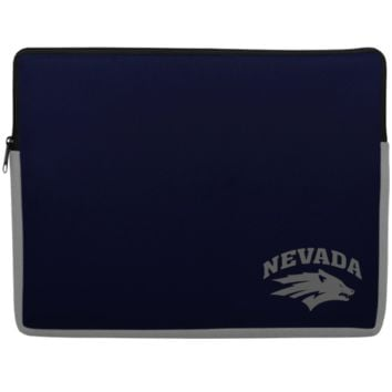 Nevada Wolf Pack 15'' Laptop Sleeve - Navy Blue - http://www.shareasale.com/m-pr.cfm?merchantID=7124&userID=1042934&productID=543374376 / Nevada Wolf Pack