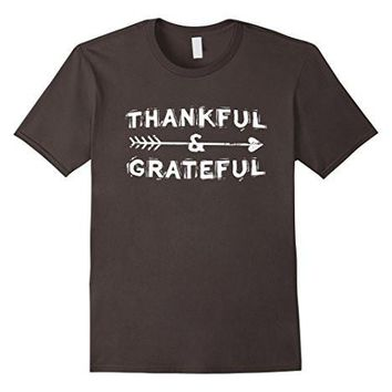 Thankfull & Grateful Thanksgiving T Shirt