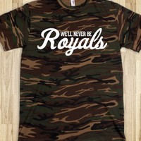 ROYALS LORDE CAMO SHIRT