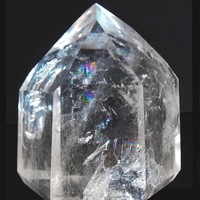 Surrounding Myself in Light and Love - Clear Quartz Crystal Point for Healing and Manifesting