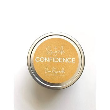 A Spark of Confidence Candle