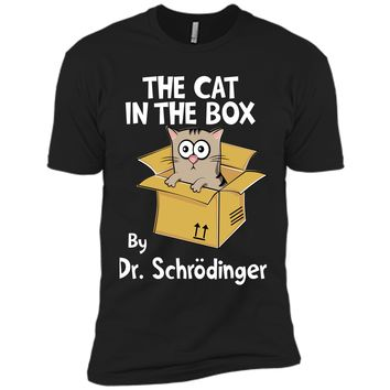 Charming The Cat In The Box By Dr Schr Dinger 2017 T Shirt