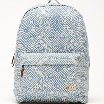 Billabong Hand Over Love School Backpack - Womens Backpack