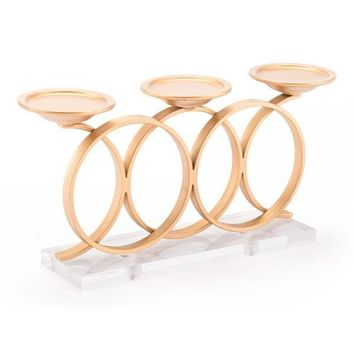 Zuo Infinity Candle Holder Gold